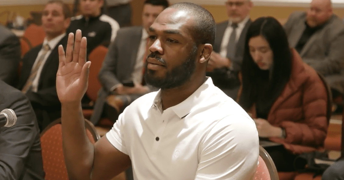 Jon Jones Arrested For Domestic Battery And Damaging A Vehicle